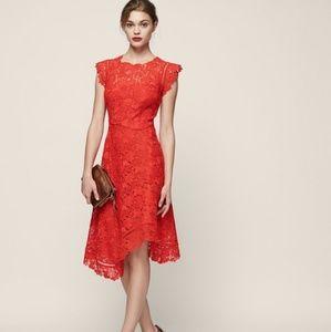 Reiss lucy midi dress US size 4